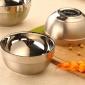 加厚304不�P�白金碗�和��p�臃�C隔�嵬�W生�T工食堂米�碗面碗